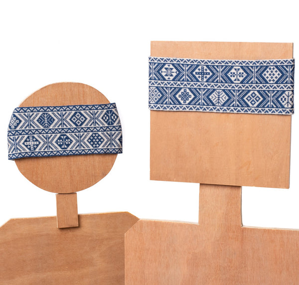 Design 1 - 2-colour Headband - BAKKA