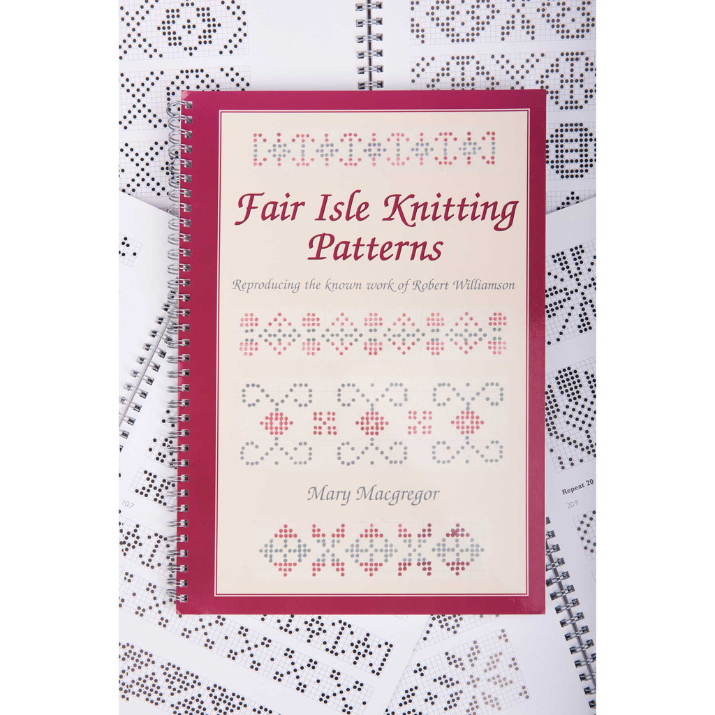Fair Isle Knitting Patterns Book by Mary Macgregor - BAKKA