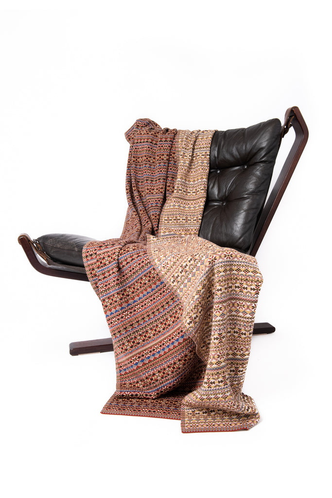 Design 10) - Heritage Throw - B - BAKKA