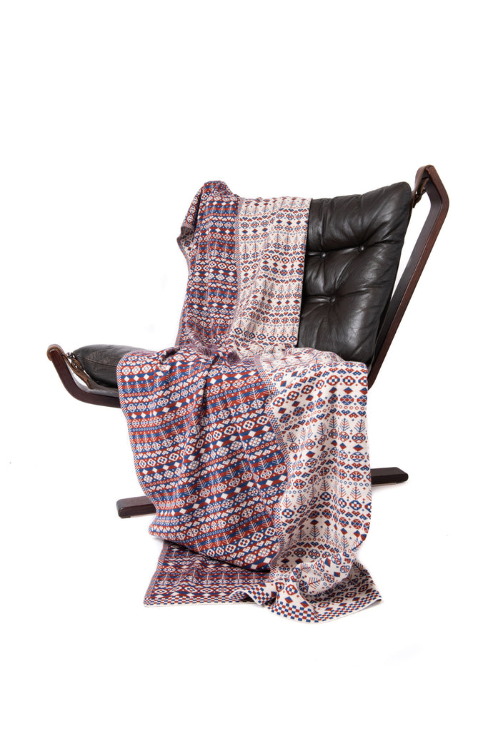 Design 11) - Heritage Throw - C - BAKKA