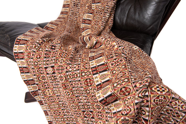 Design 7) - Heritage Throw - D - BAKKA