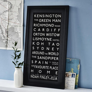 As seen on TV 2 -  Betsy Benn's Personalised Quote Print
