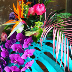 Kate Langdale Florist colourful flowers