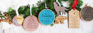 Betsy Benn Personalised Christmas Decorations