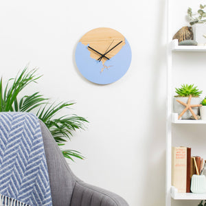Coastline Wooden And Acrylic Personalised Clock  Home - Betsy Benn