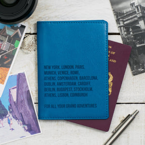 Turquoise Passport Cover