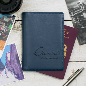 Airforce Script Passport Cover