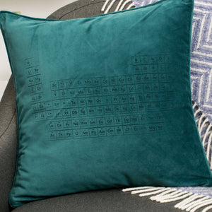 Periodic Table Velvet Cushion