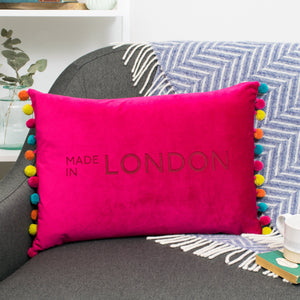Favourite Place Velvet Cushion