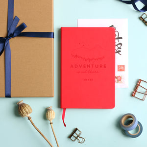 Adventure is Out There Personalised Luxury Journal