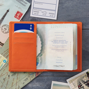 Passport - Personalised Clearance Passport Cover - Hayley-Gift-Betsy Benn