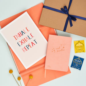 Inhale Exhale Moment Of Calm Letterbox Gift