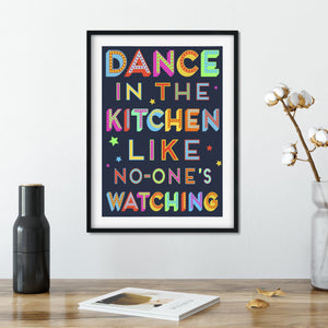 Dance In The Kitchen print  Print - Betsy Benn