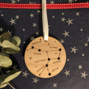 Family Constellation Christmas Bauble