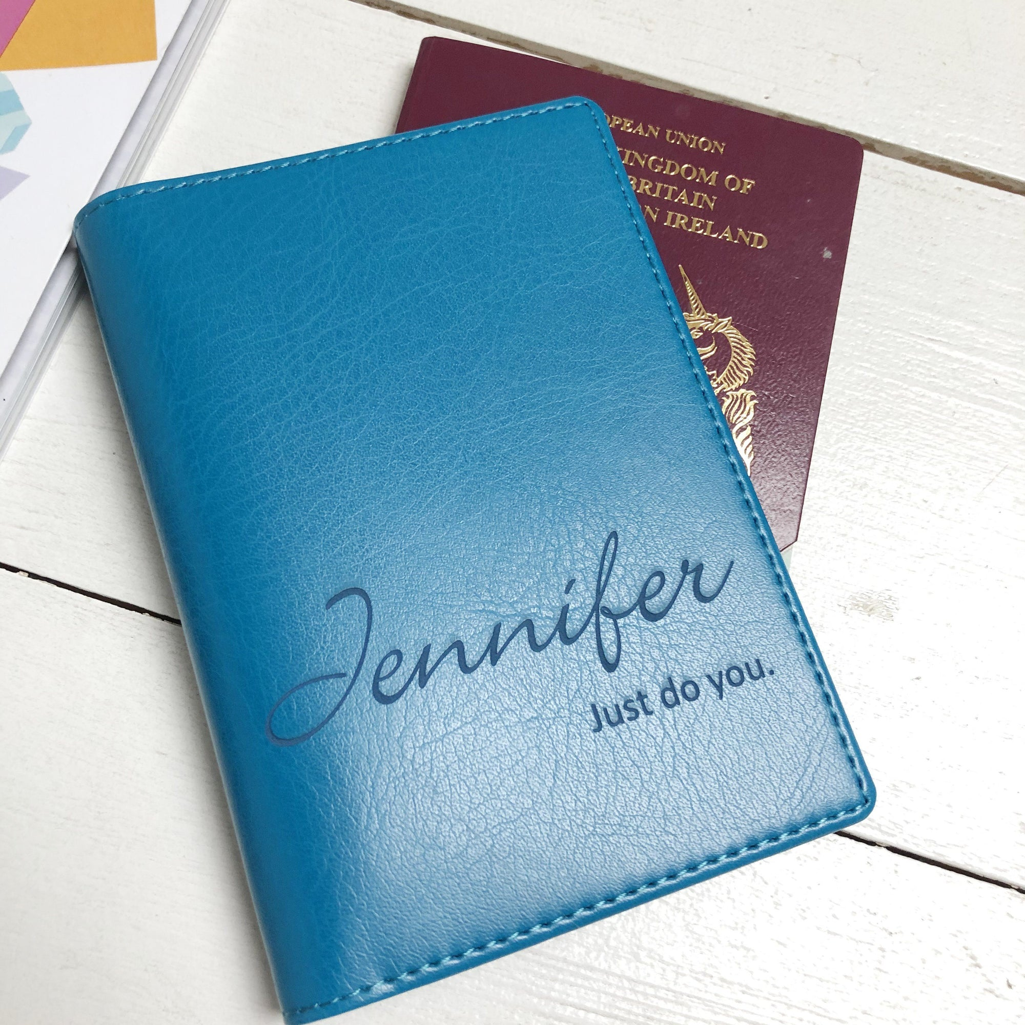Passport - Personalised Clearance Passport Cover- Jennifer-Gift-Betsy Benn