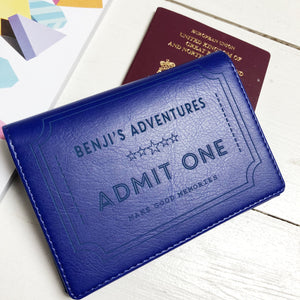 Passport - Personalised Clearance Passport Cover - Benji-Gift-Betsy Benn