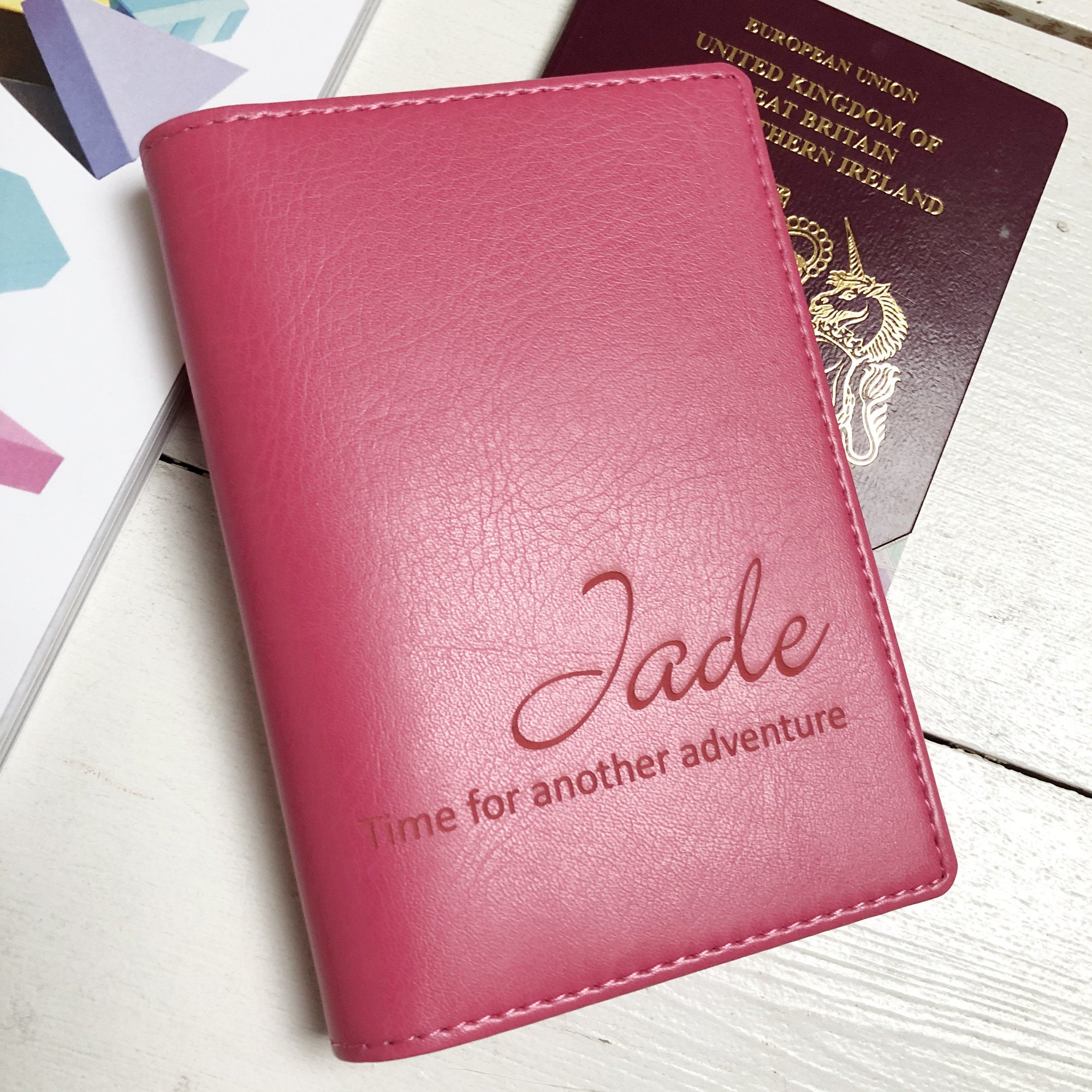 Passport - Personalised Clearance Passport Cover - Jade-Gift-Betsy Benn