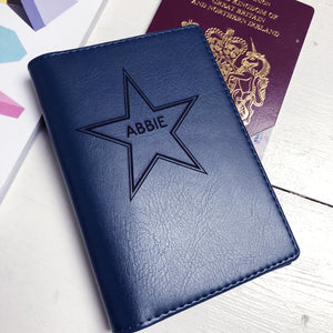 Passport - Personalised Clearance Passport Cover - Abbie