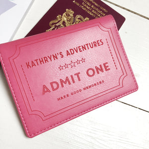 Passport - Personalised Clearance Passport Cover - Kathryn-Gift-Betsy Benn