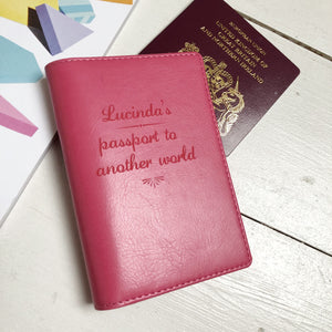 Passport - Personalised Clearance Passport Cover - Lucinda
