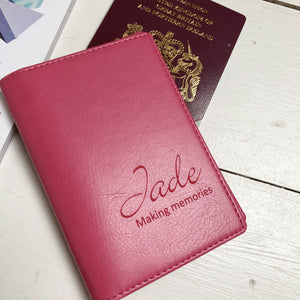 Passport - Personalised Clearance Passport Cover - Jade (2)-Gift-Betsy Benn
