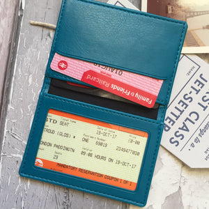 Ticket To Ride Personalised Oyster Travel Card Cover-Gift-Betsy Benn