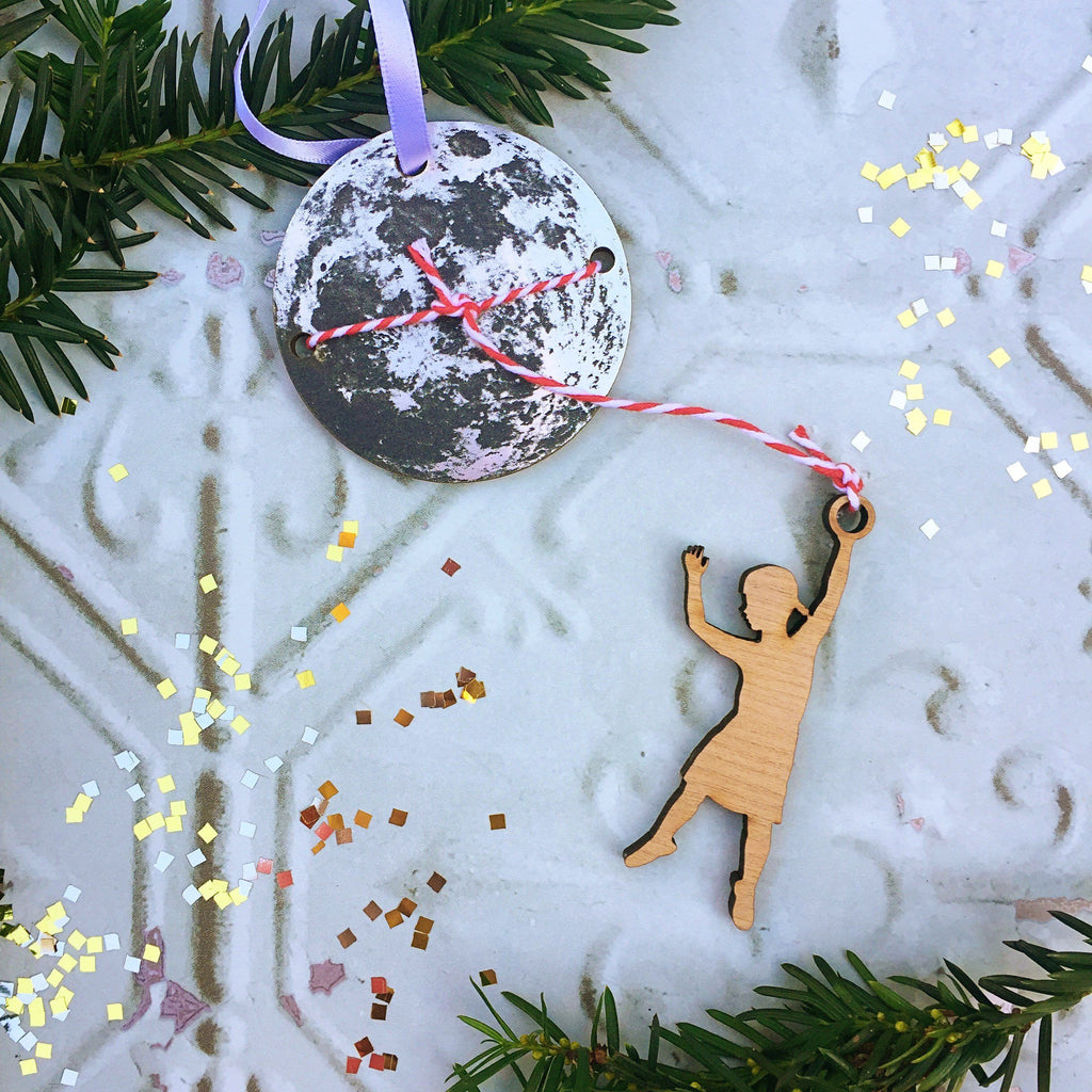 Lasso the Moon Christmas Decoration - Betsy Benn