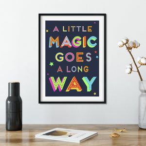 A Little Magic Goes A Long Way Giclee Print-Print-Betsy Benn