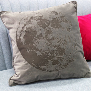 Full Moon Velvet Cushion