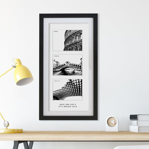 Our Three Favourite Cities  Print - Betsy Benn