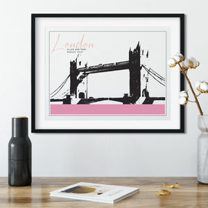 Our Favourite City Art Print