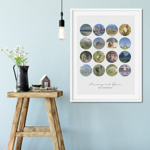 Mummy and Me Photo Memories  Print - Betsy Benn