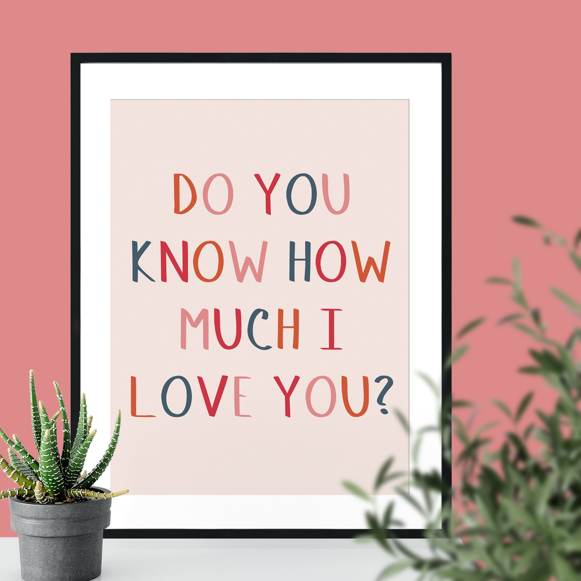 Do You Know How Much I Love You Giclee Print-Betsy Benn