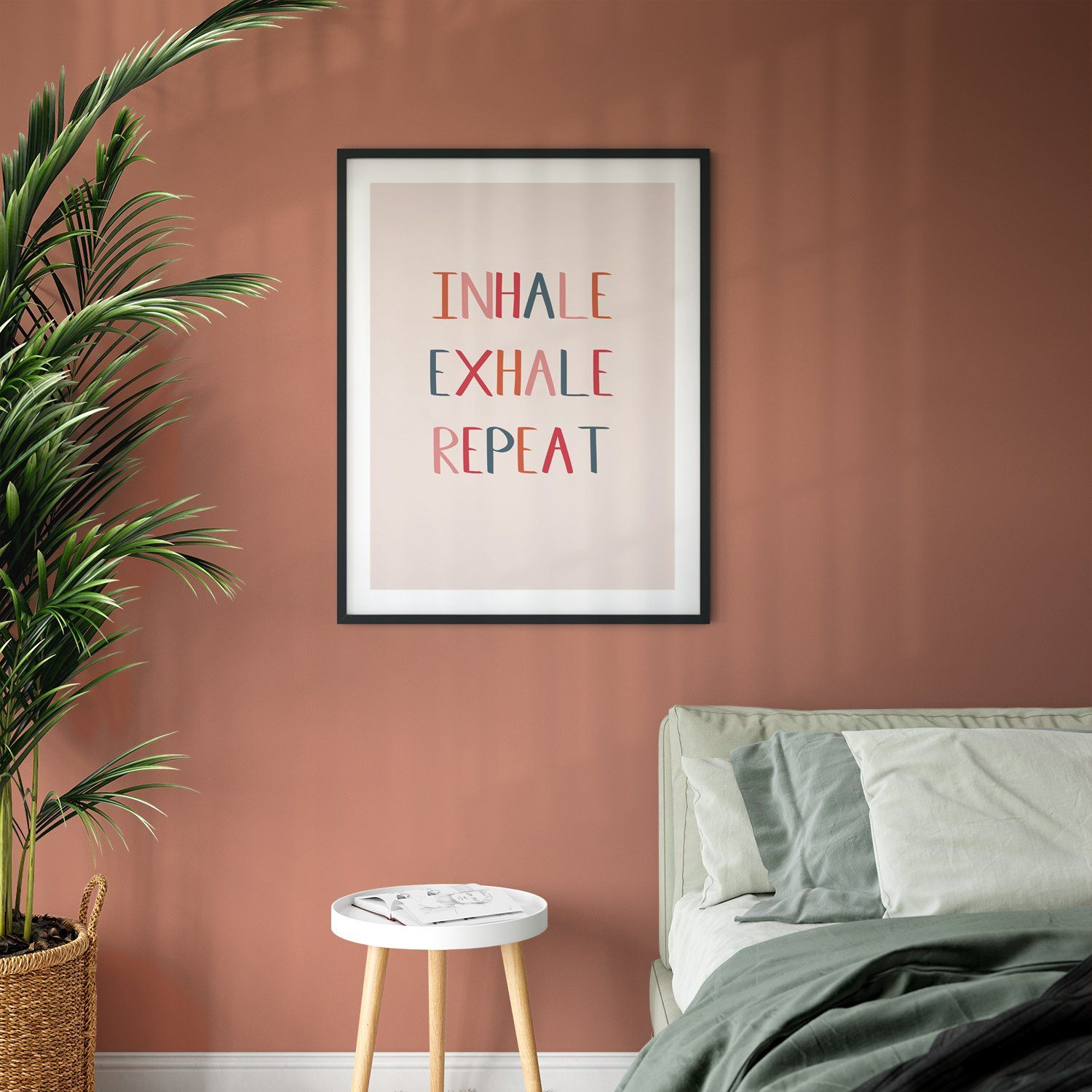Inhale Exhale Repeat Giclee Print