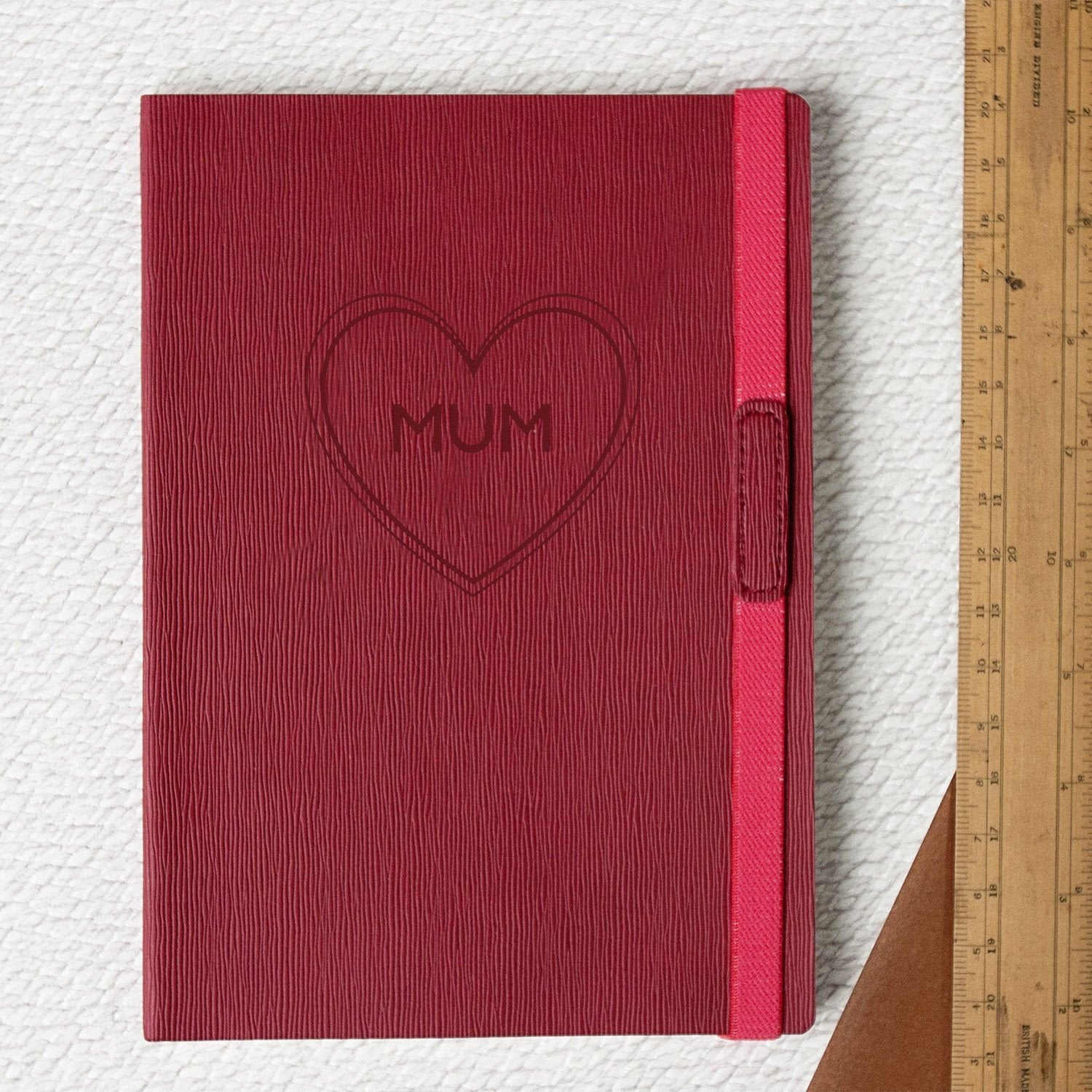 Name in Heart Personalised Notebook-Notebook-Betsy Benn