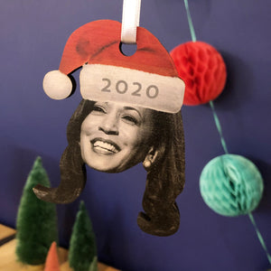 Joe Biden & Kamala Harris 2020 Christmas Tree Ornaments-Betsy Benn