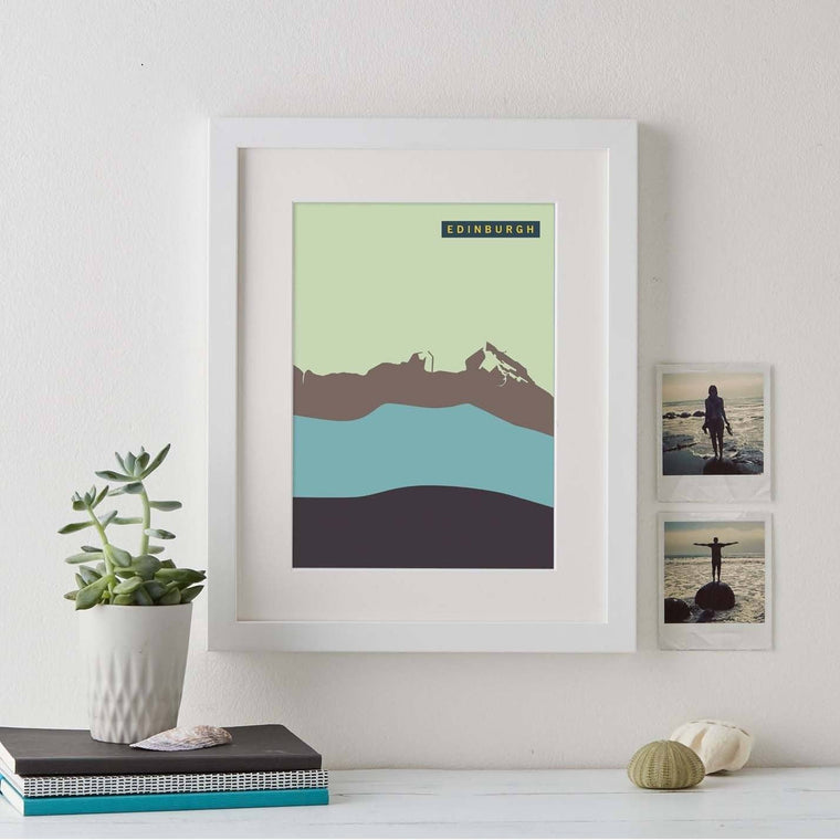Abstract Coastline Personalised Prints - Betsy Benn