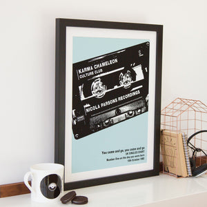 Number One Cassette Print