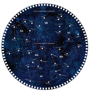 Constellation Family Tree Print  Print - Betsy Benn