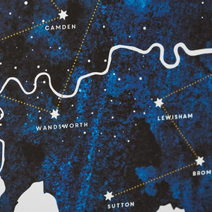 Constellation Of Favourite Places Print  Print - Betsy Benn