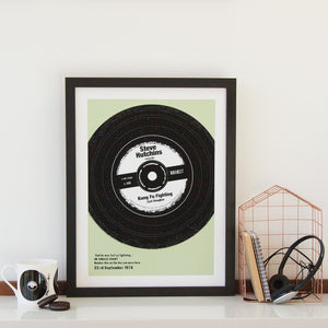 Our Favourite Song Vinyl Print