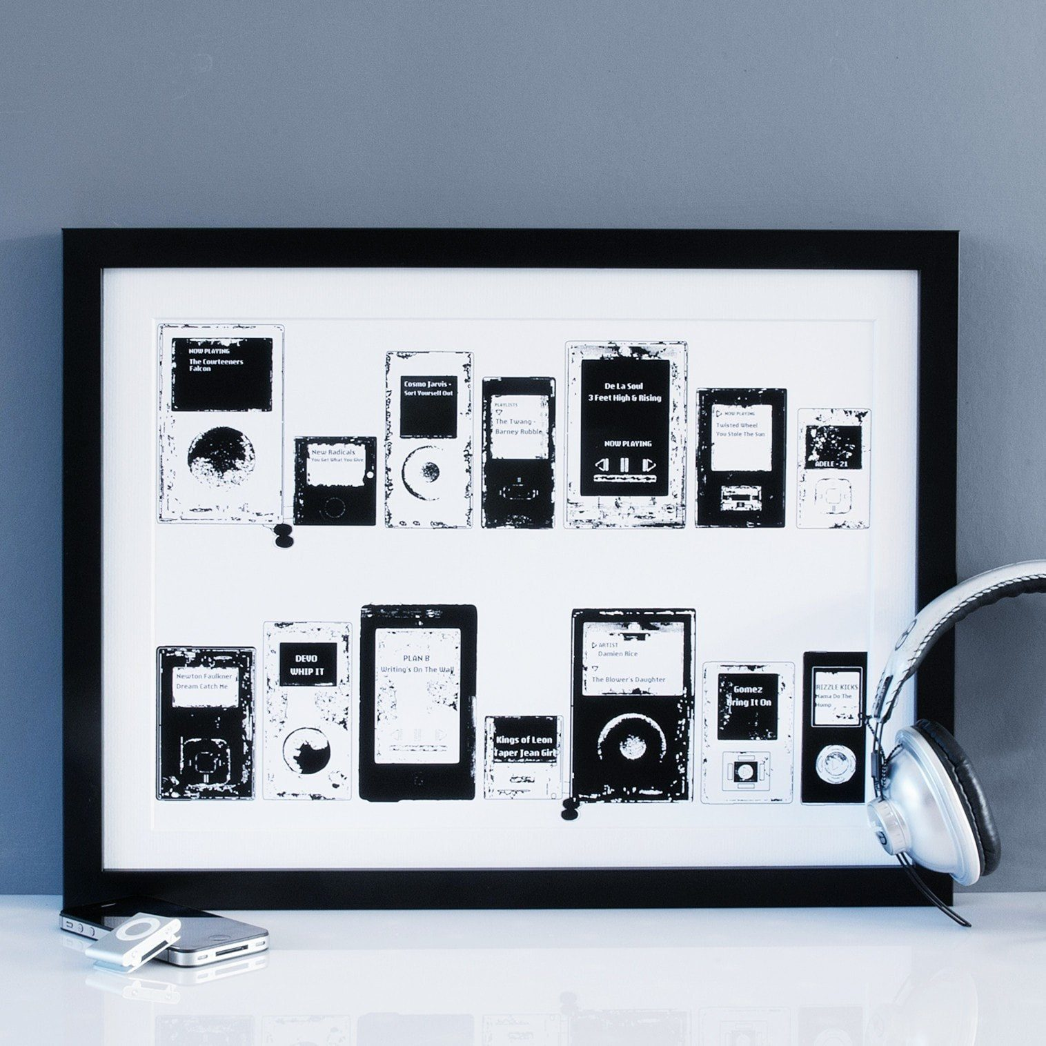 MP3 Playlist Print  Print - Betsy Benn