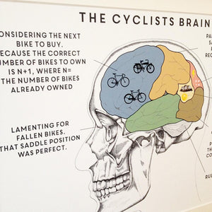 The Cyclist's Brain Print