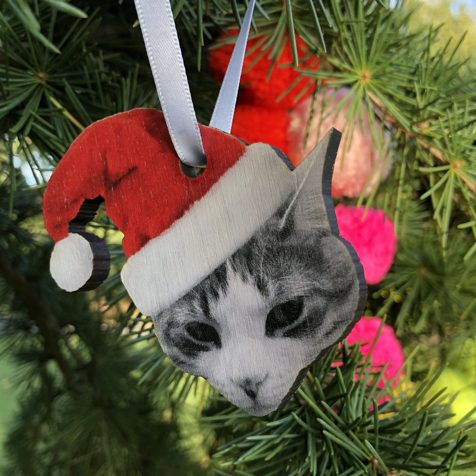 Personalised Pet Christmas Tree Decoration-Betsy Benn
