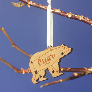 Polar Bear Christmas Ornament-Decoration-Betsy Benn