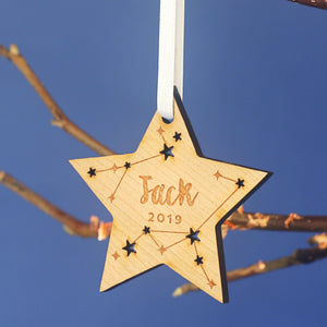 Star Christmas Tree Ornament-Decoration-Betsy Benn