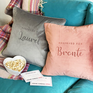 Home Cinema Cushion and Popcorn Gift set