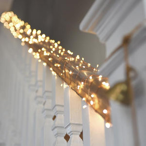 Cluster Copper Chain Lights 20m