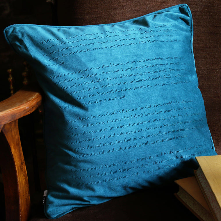 Classic Literature Personalised Velvet Cushion - Betsy Benn