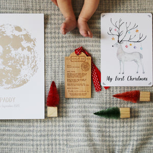 Baby's First Christmas Letter Box Gift